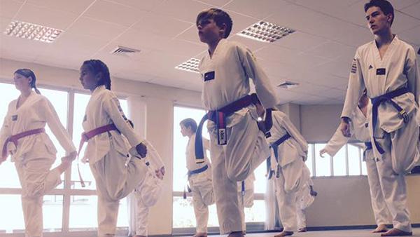 Unterrichtseinblick Taekwondo Backnang für Jugendliche und Erwachsene